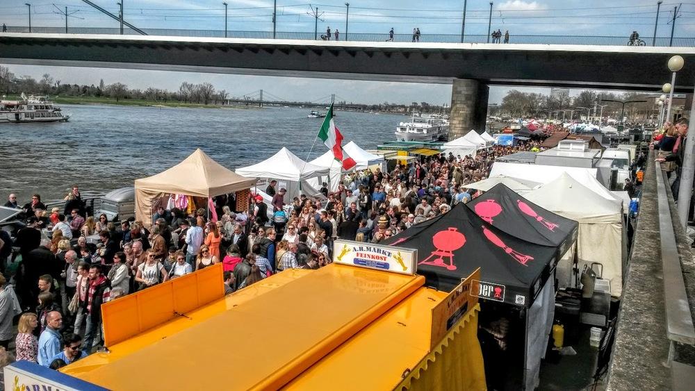 Dusseldorf Riverfront Market