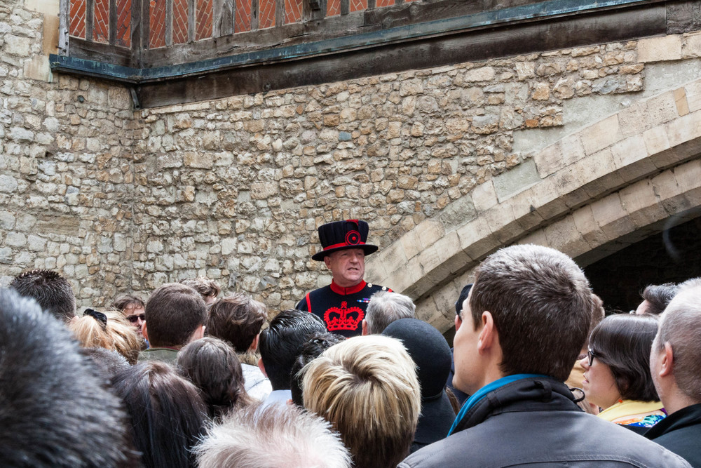 London Tower Billy Beefeater