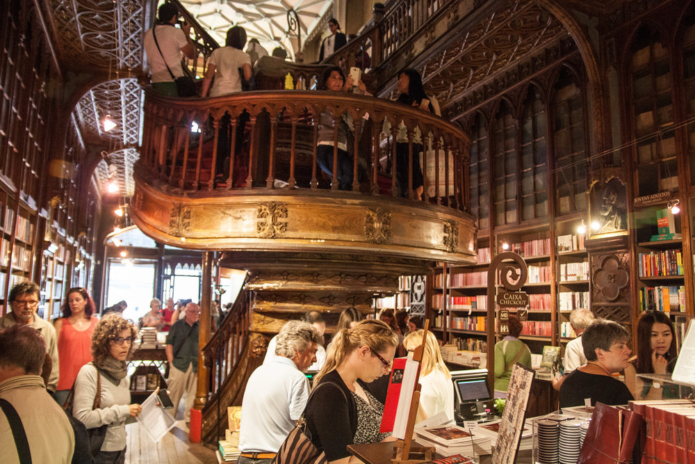 Lello Bookstore Porto