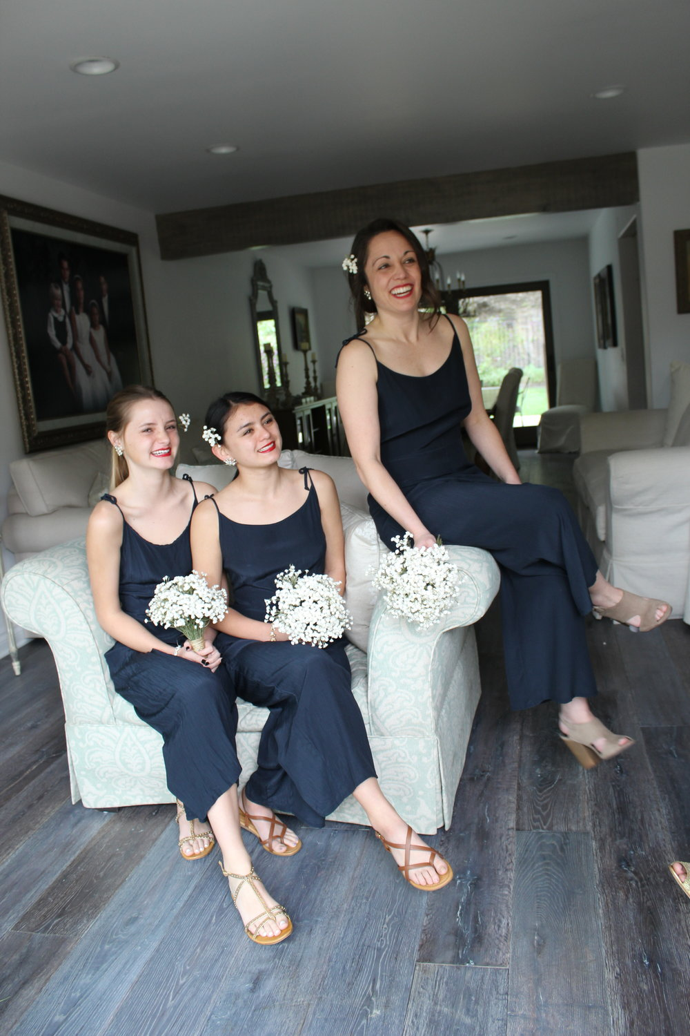 AU & CO. Custom bridal navy jumper bridesmaid.JPG