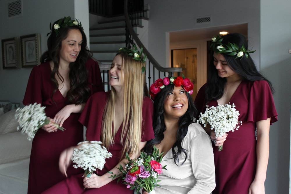 AU & Co. Custom Bridal color burgundy bridesmaids.jpg