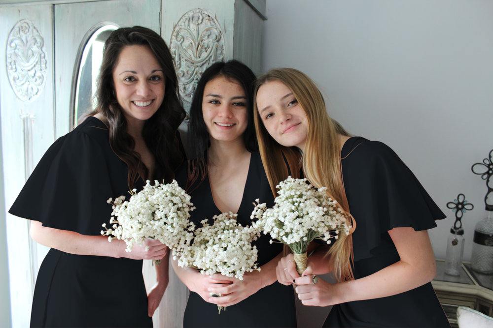 AU & CO. Custom Bridal color black bohemian bridesmaids.jpg
