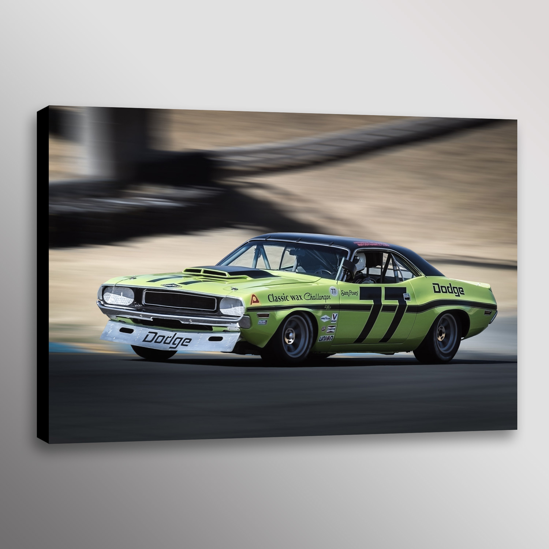 1970 77 Sam Posey Dodge Challenger Trans Am Racecar Dennis
