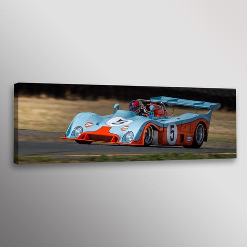 Vintage Gulf Mirage Racecar Car Photo Wall Art Canvas Print — Dennis ...
