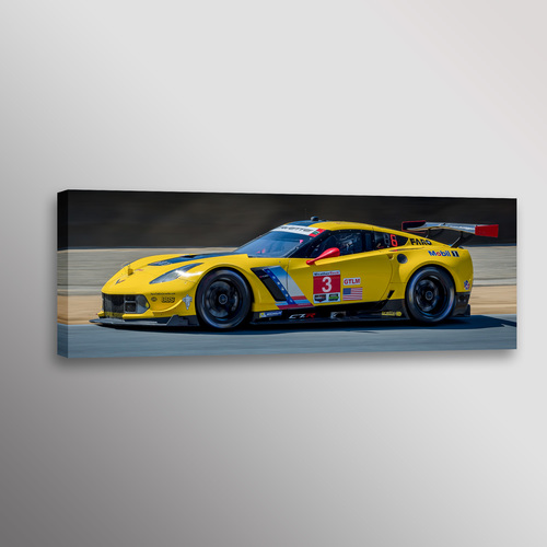 Chevrolet Corvette C7R Z06 Racecar Car Automobile Photo Wall Art ...