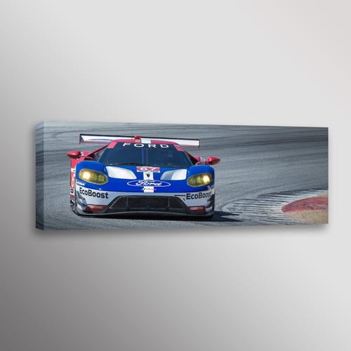 Ford Gt Imsa Racecar Automotive Car Photo Wall Art Canvas Print