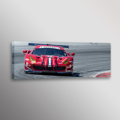 Ferrari 488GTB IMSA Racecar Car Photo Automotive Wall Art Canvas ...