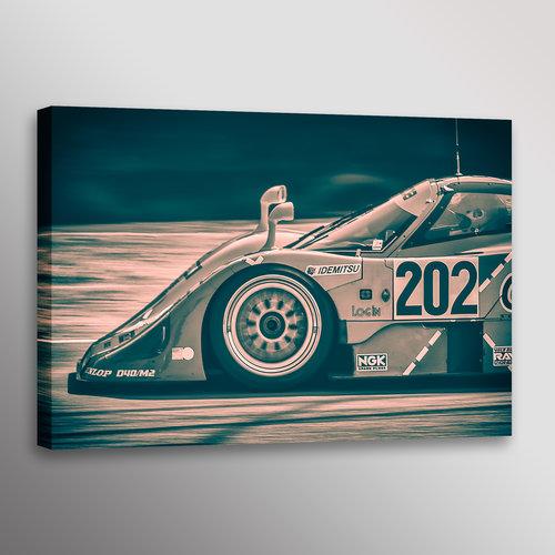 Historic Mazda 767B Le Mans Racecar Automotive Car Photo Wall Art ...