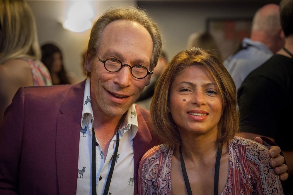 IMG_9339 (Non-Con 2015) Lawrence Krauss and Ensaf Haidar (photo by Sassan Sanei).jpg
