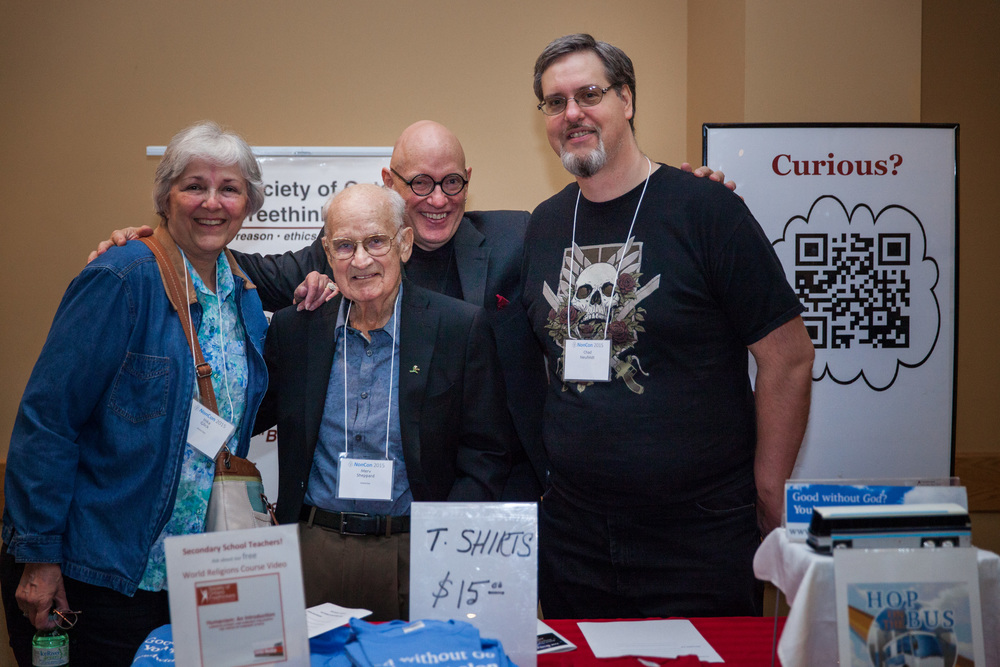 IMG_9370 (Non-Con 2015) Inka Glick, Merv Sheppard, Peter Kanold, and Chad Neufeldt - Society of Ontario Freethinkers (photo by Sassan Sanei).jpg