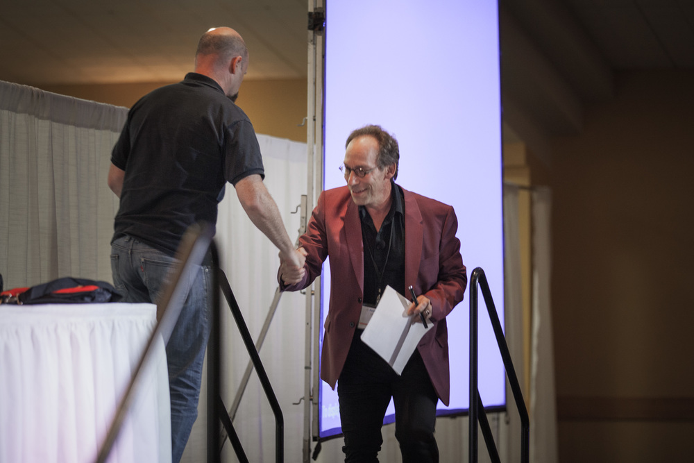 IMG_9685 (Non-Con 2015) Spencer Lucas and Lawrence Krauss (photo by Sassan Sanei).jpg