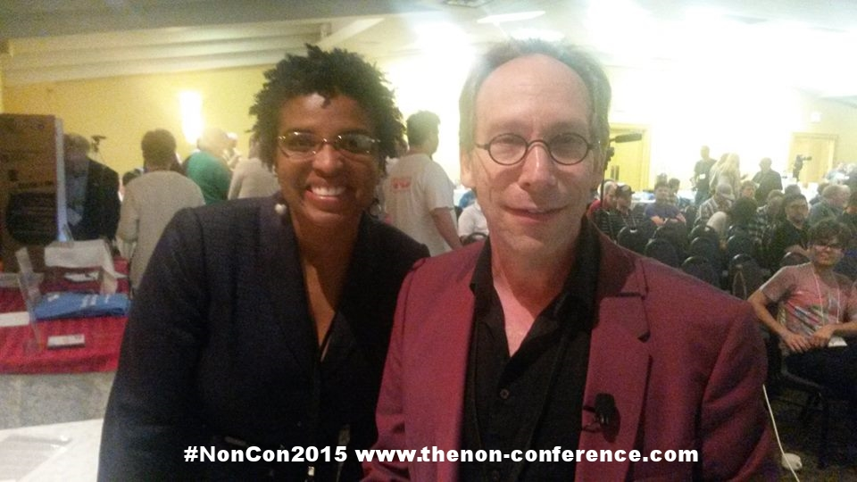 Carolyn Hyppolite and Lawrence Krauss
