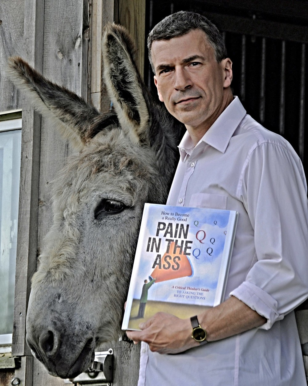 Christopher DiCarlo and his Critical Donkey