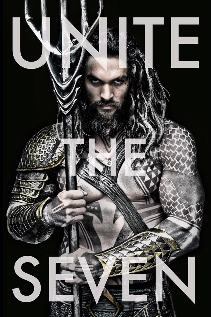 Jason Momoa is Aquaman. #UniteTheSeven