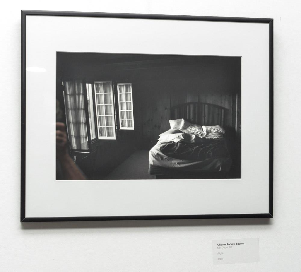 photograph taken by staff at Photo Place Gallery, work by CAS