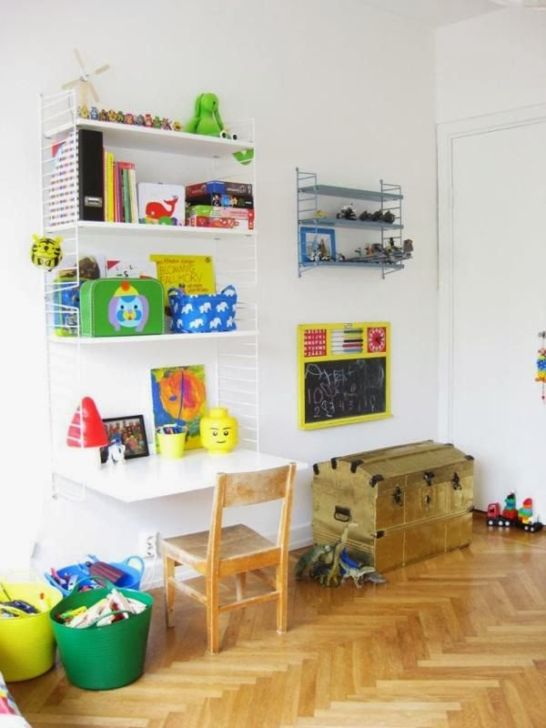 How To Style String Shelving In Kids Rooms The Little
