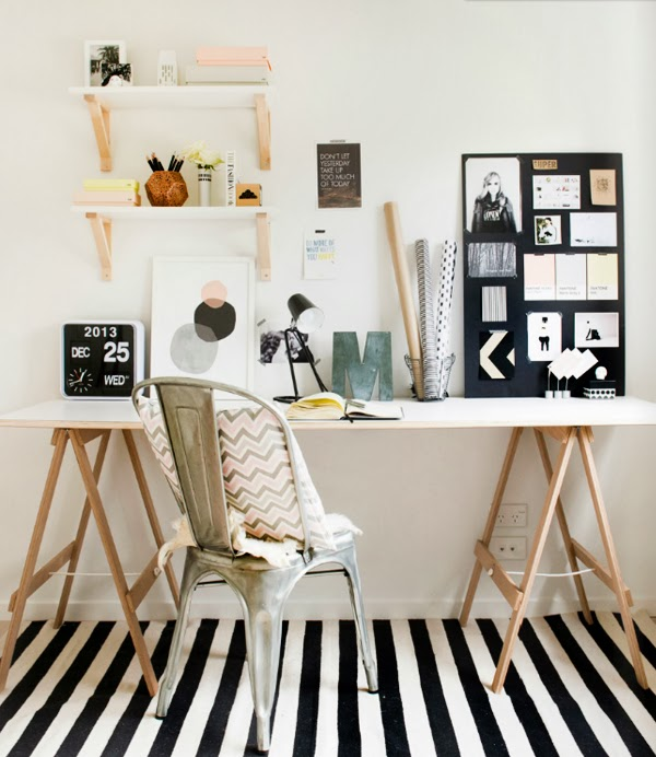 Scandivian-Home-study-room-striped-rug.jpg