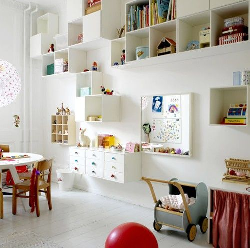 10 Types Of Toy Organizers For Kids Bedrooms And Playrooms: Playroom Ideas + Inspiration
