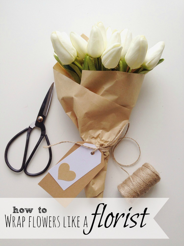 How to wrap flowers like a florist the little design corner regular readers will know how much i love to wrap beautiful gifts the post i did on wrapping a gift in kraft paper see it here is still one of my most mightylinksfo