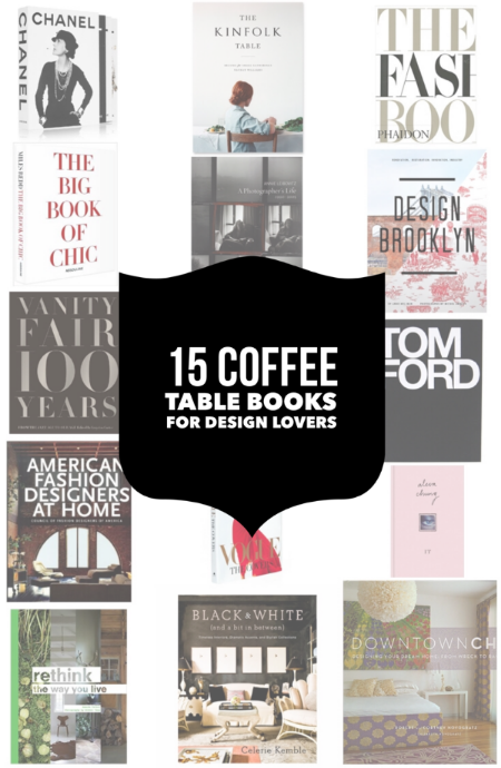 15 coffee table books for design lovers — The Little