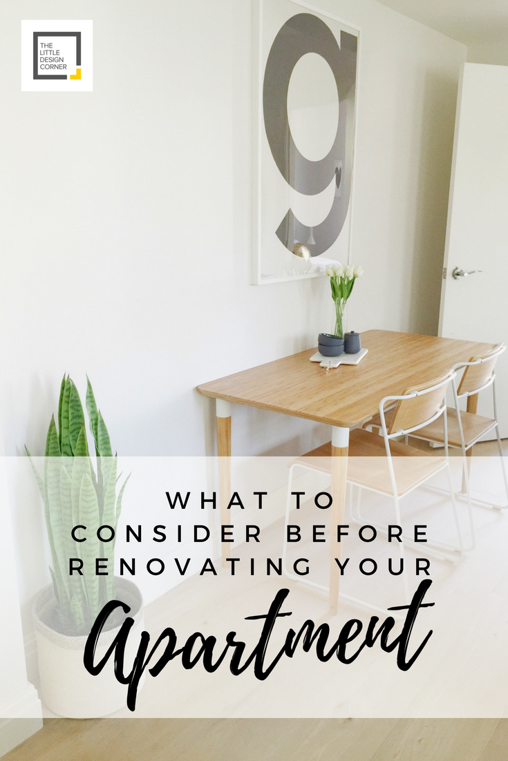 What to consider before renovating your apartment — The ...