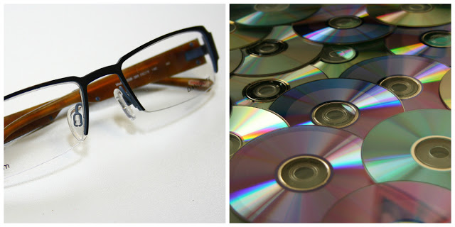 Yup, those glasses framing your face and the CD's that are collecting dust are made of polycarbonate.