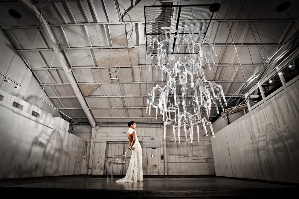 2014 Louis Ghost Chair Chandelier, Honolulu, Hawaii, USA Photo by Muse Agenci