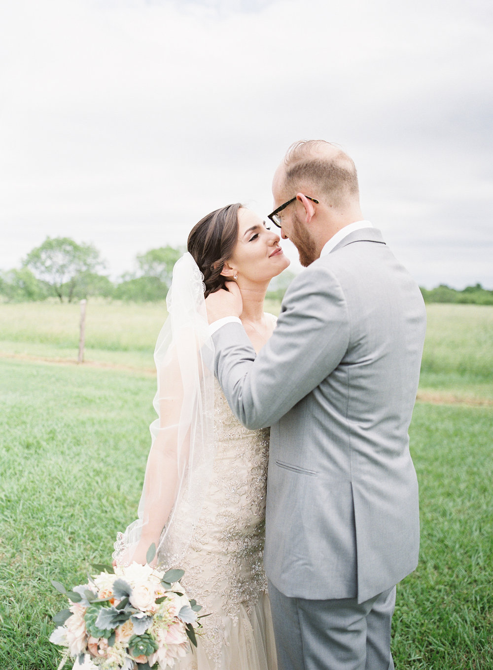 Romantic Texas ranch wedding -