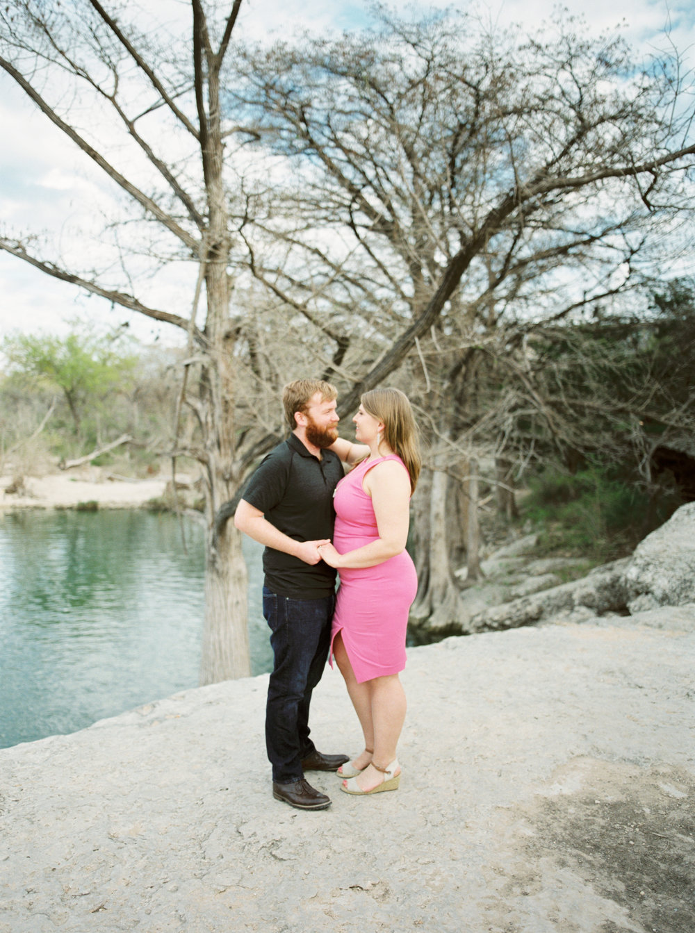 Waterside engagement session -