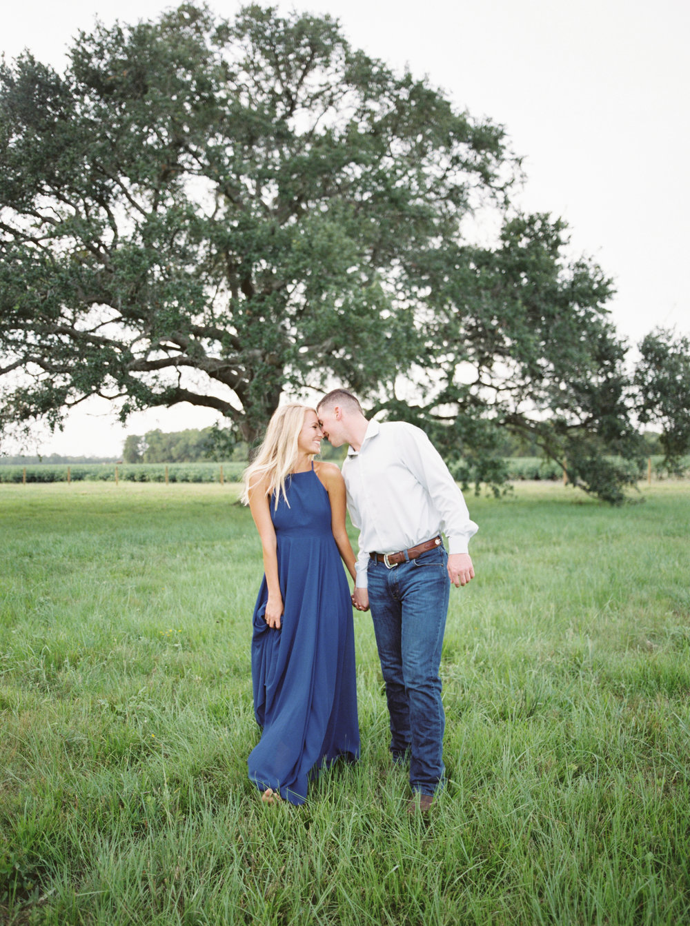 Private ranch engagement session -
