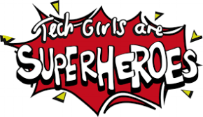 Our students are winners of the 2016 Tech Girls are Superheroes competition