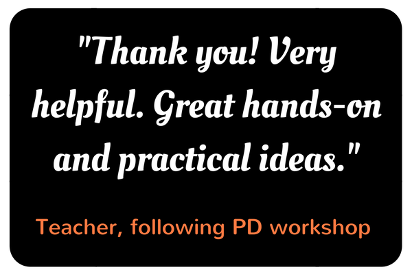 Practical PD for teachers