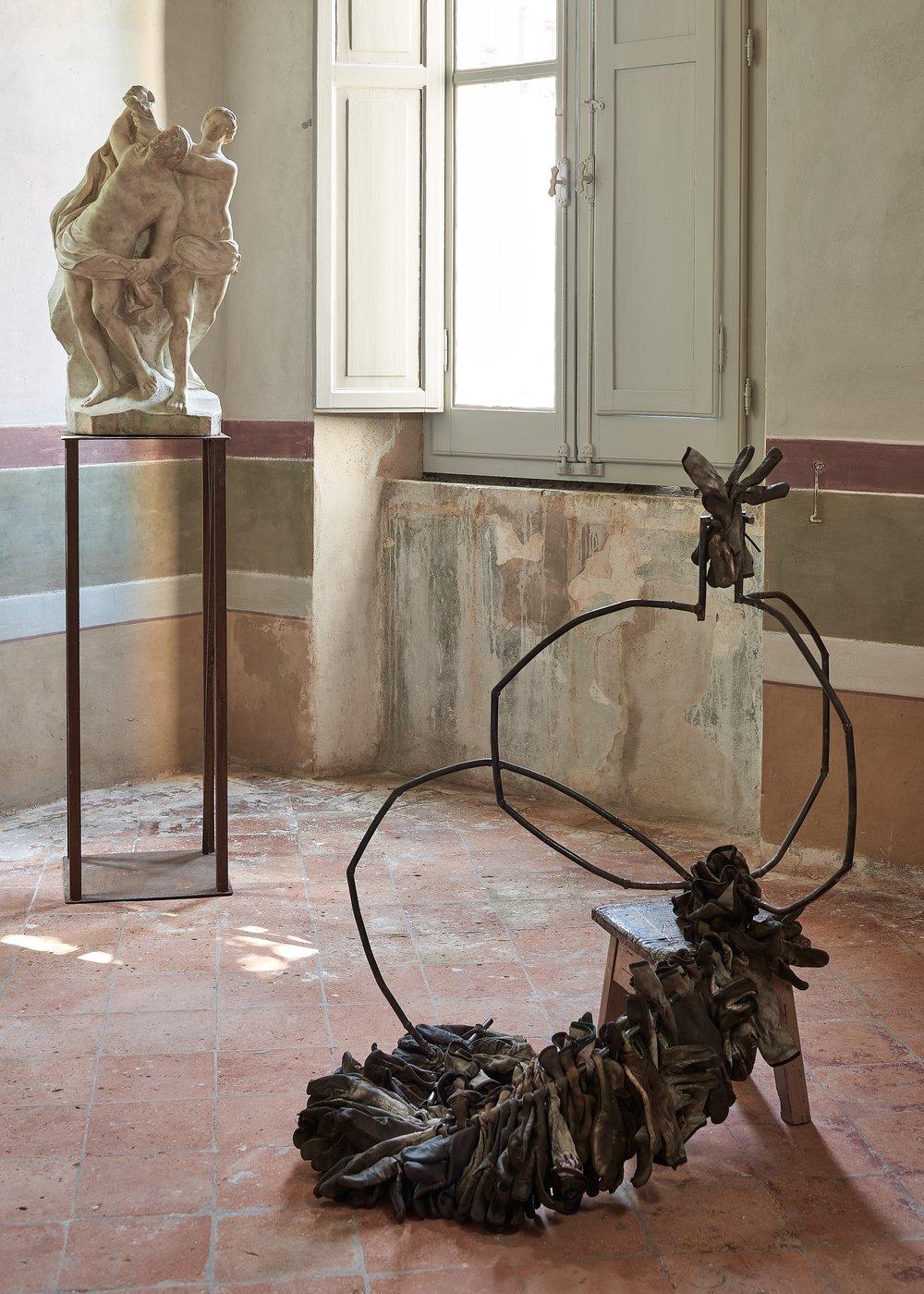 Altrove / Figura opulenta  2017  Esposizione  La dea ignota  , per gentile concessione di Gasparelli Arte Contemporanea, 2018 - Foto Paolo Semprucci
