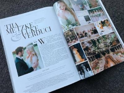Luxury Weddings Magazine Pgs. 254-255