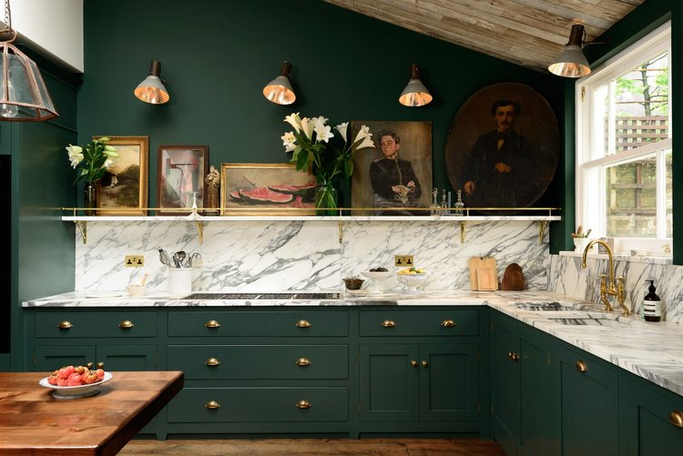 Cabinet Trends: Green & NavyClassic Kitchens & Baths