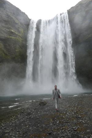 Skogafoss Waterfall, Iceland June 2015
