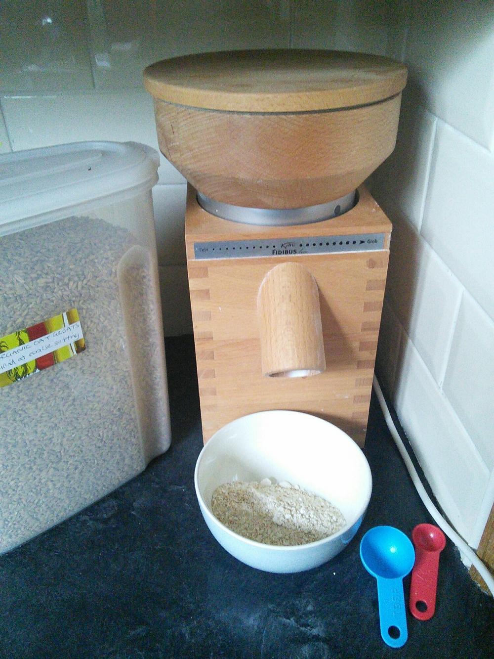 Speedy oatmeal
