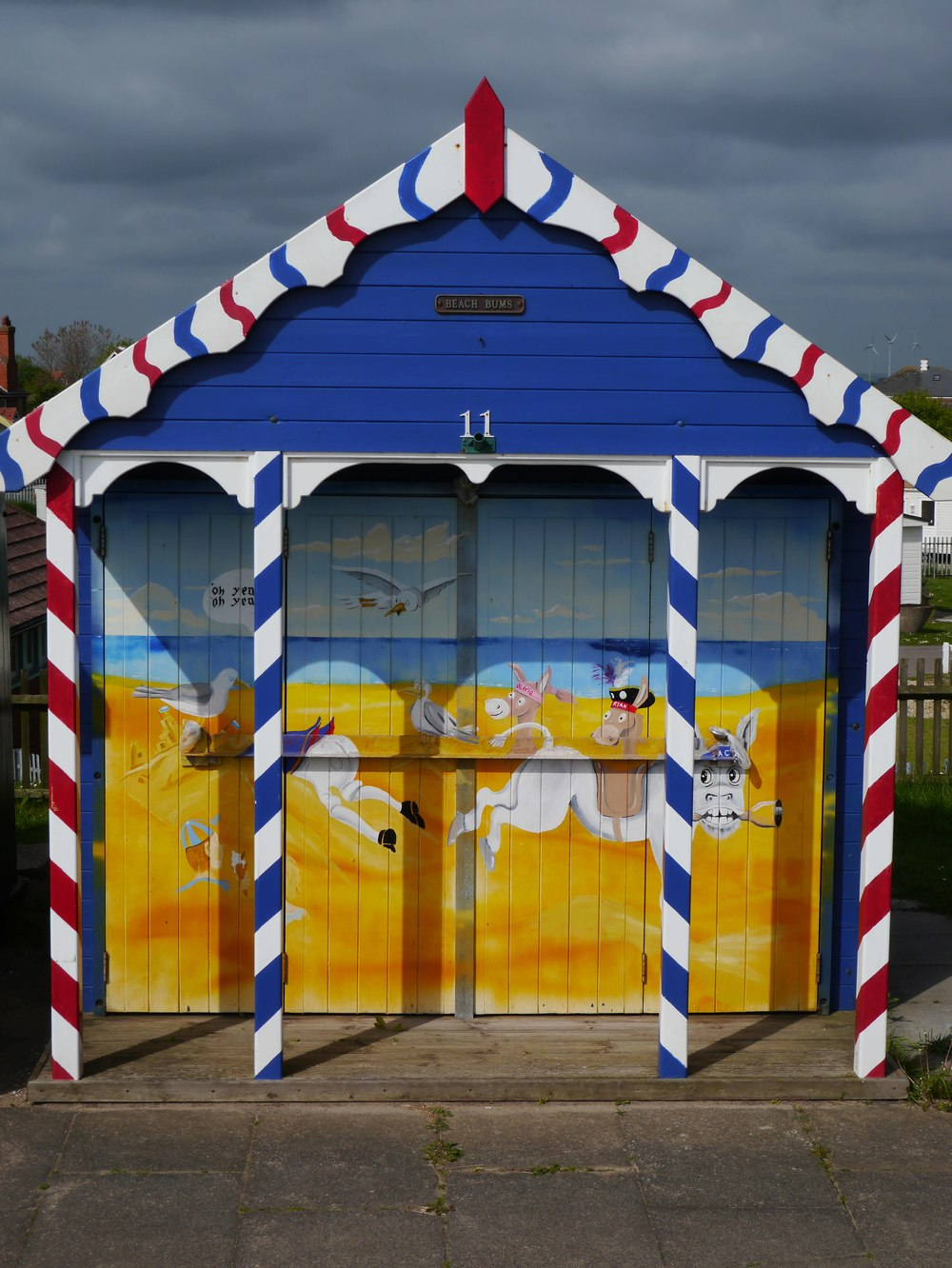 Sutton on Sea beach hut - front.JPG