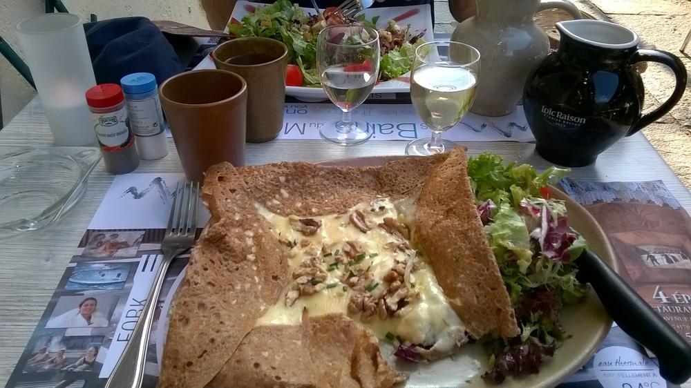 fromage et noix galette