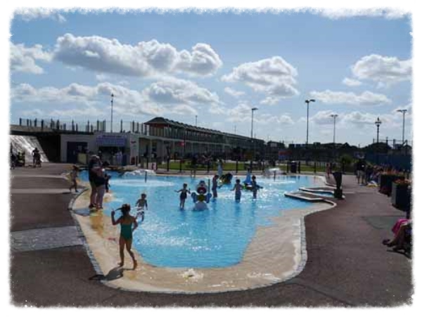 Sutton on Sea paddling pool