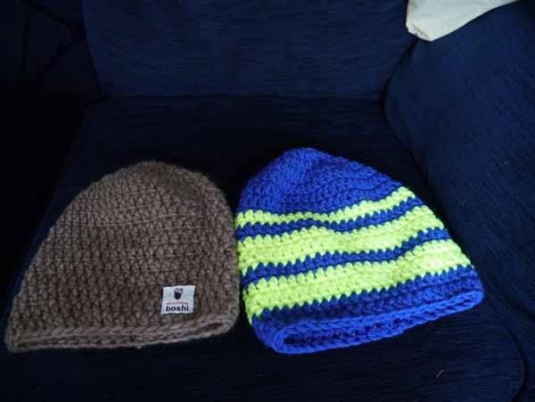 My Boshi hats
