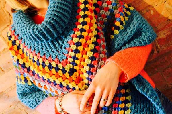 Crochet poncho 2016