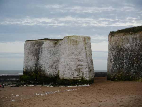 Botany Bay Chalk Stacks