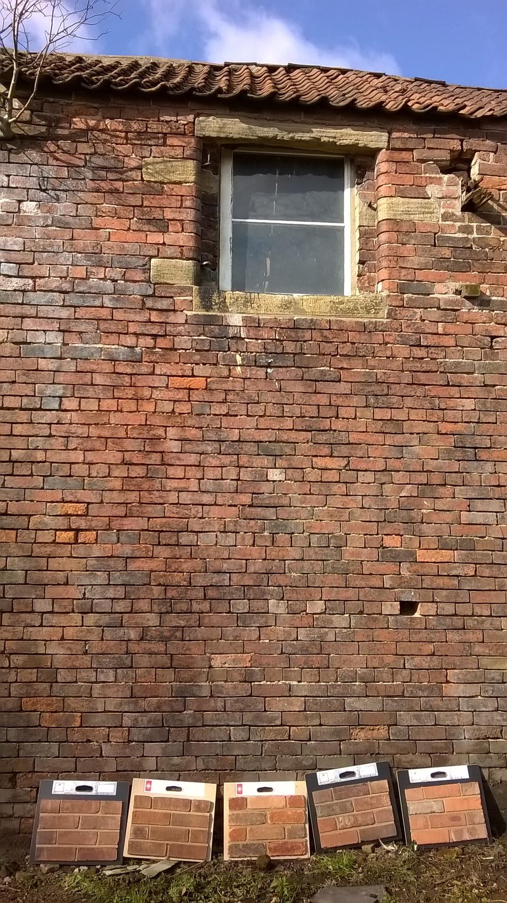 Brick matching session