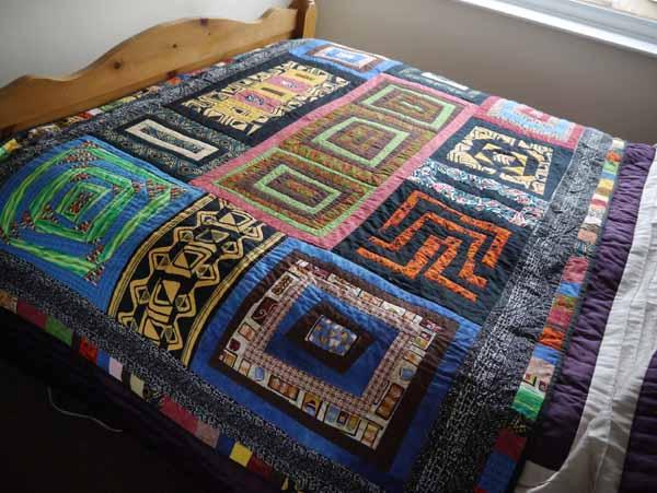 African Quilt Jan 2016