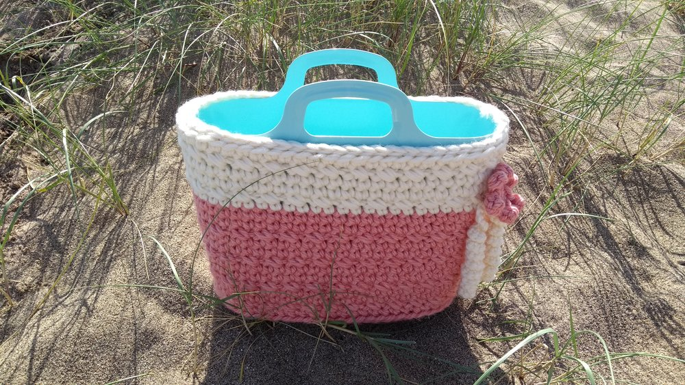 Super Bulky Crochet Basket Finished.jpg