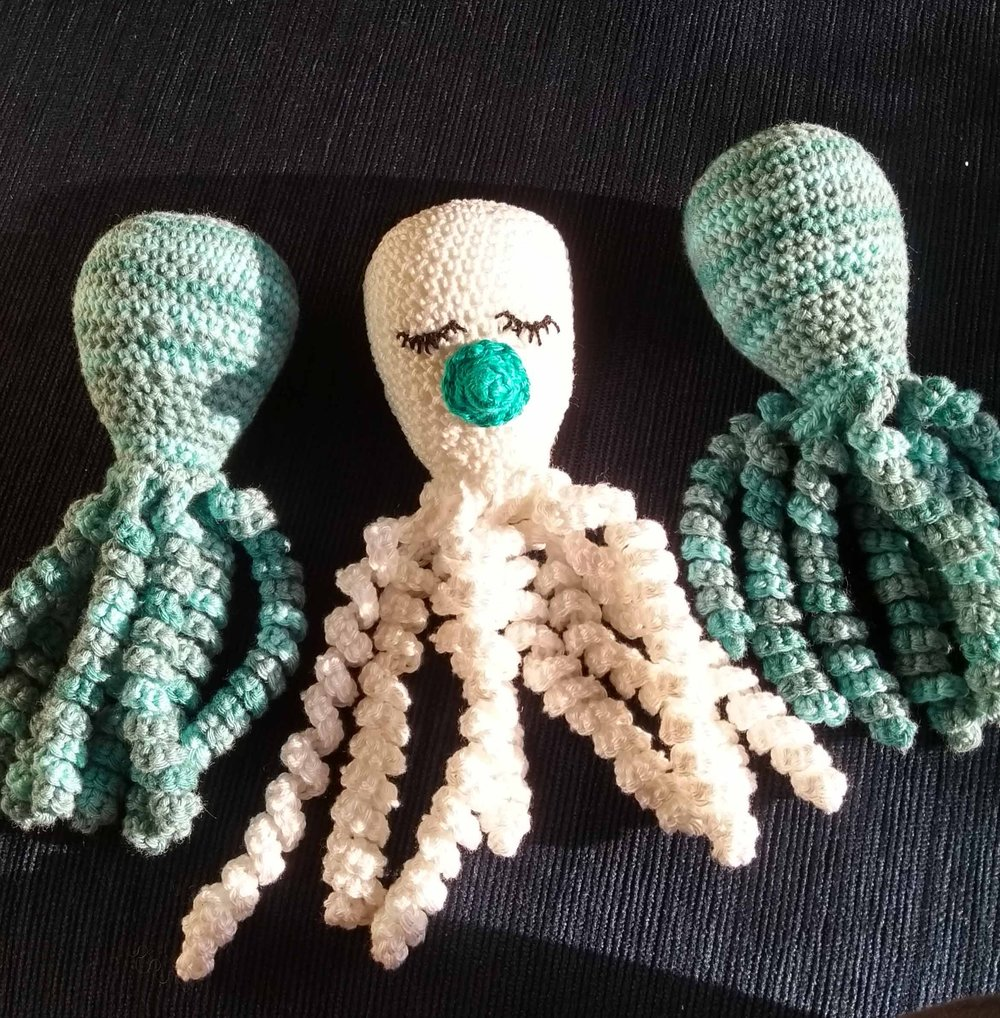 Crochet Octopuses or Octopi?