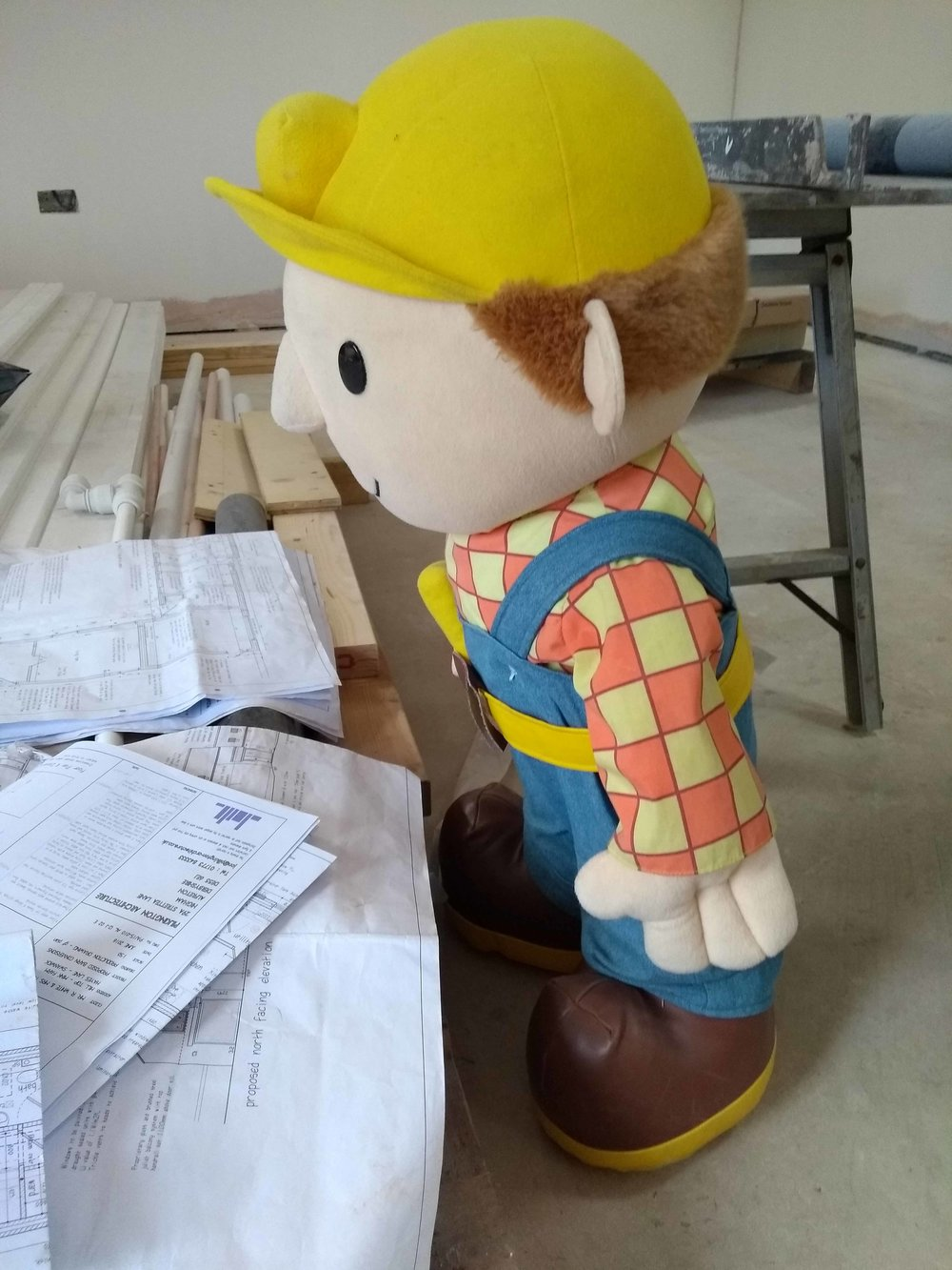 Bob the Builder  - Checking the plans