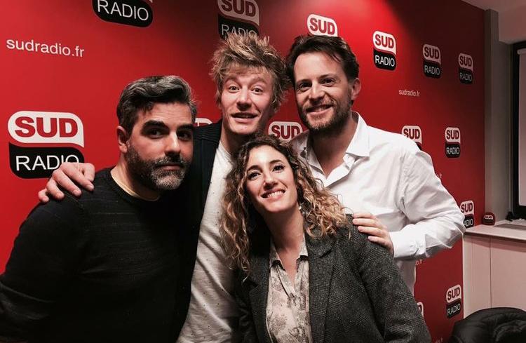 Gérémy Crédeville sur Sud Radio