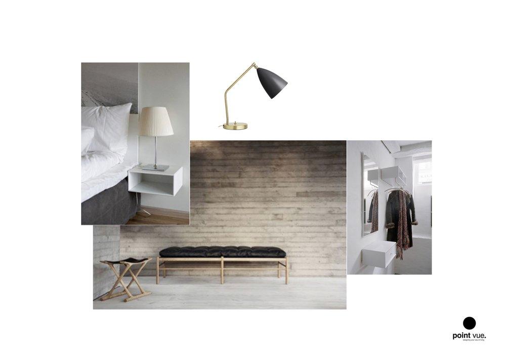Slaapkamer/dressing (Zolder)